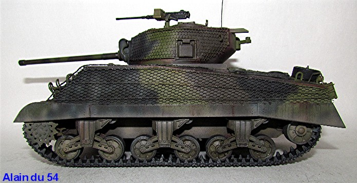 Sherman M4A3 76mm 1/35 Italeri IMG_6533