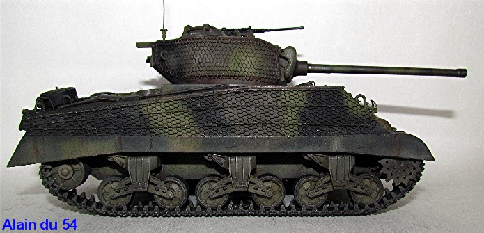 Sherman M4A3 76mm 1/35 Italeri IMG_6534
