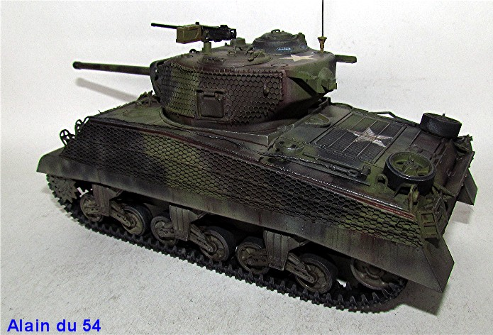 Sherman M4A3 76mm 1/35 Italeri IMG_6536