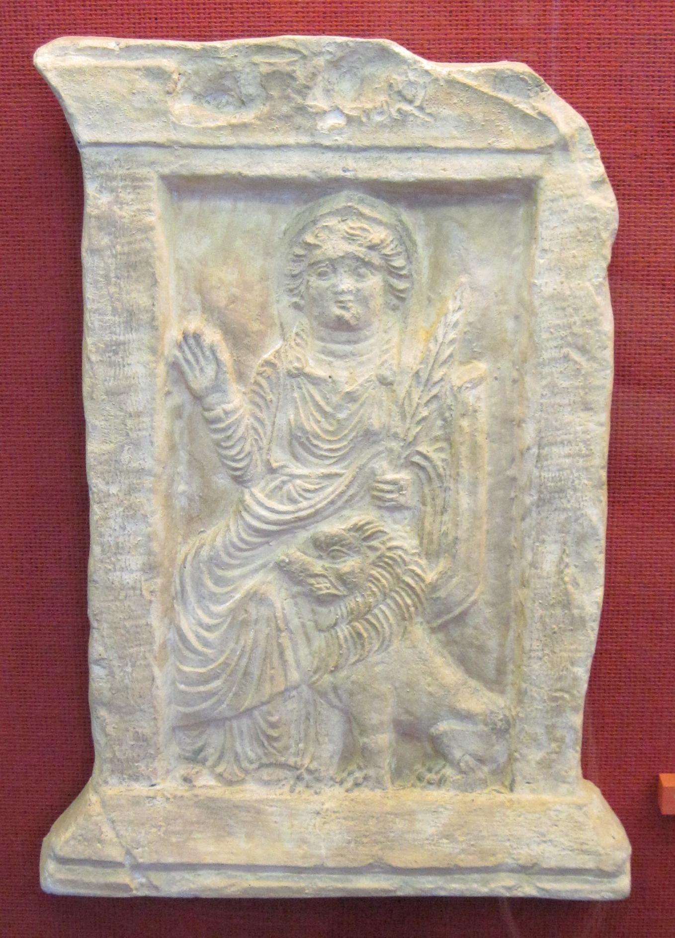 Matriarcat & Religions : des vestiges secrets au syncrétisme Allat_palmyre-et-le-lion