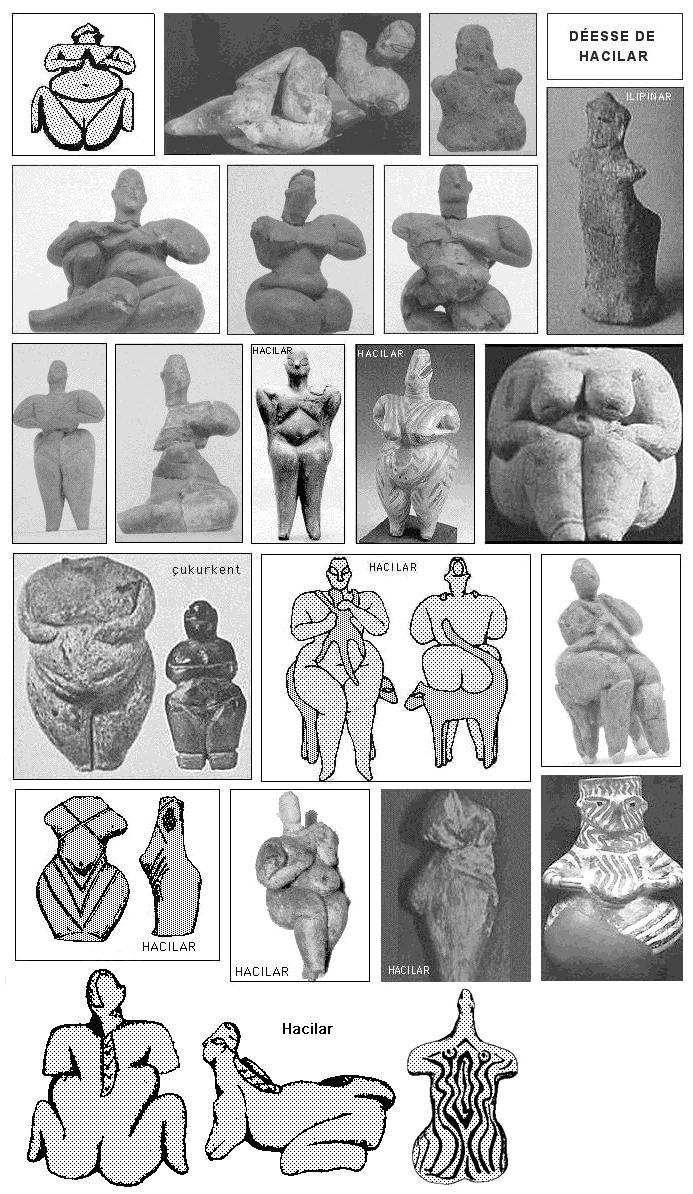 Matriarcat & Religions : des vestiges secrets au syncrétisme Dc3a9esse-mc3a8re-dhacilar