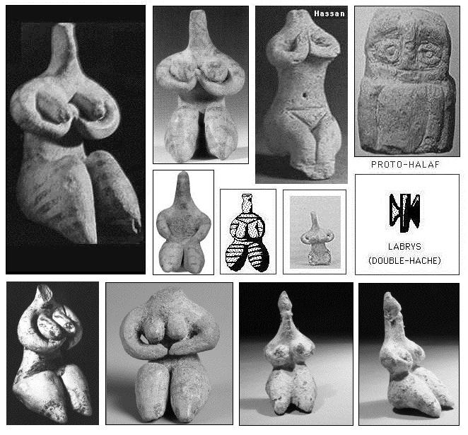 Matriarcat & Religions : des vestiges secrets au syncrétisme Dc3a9esses-mc3a8res-des-halafiens
