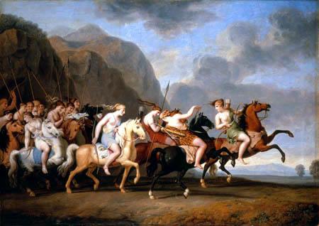 Matriarcat & Religions : des vestiges secrets au syncrétisme La-bataille-des-amazones-par-w-tischbein-c2a9-pinacothc3a8que-de-munich