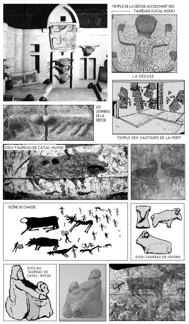 Matriarcat & Religions : des vestiges secrets au syncrétisme Le-taureau-fertile-compagnon-de-la-dc3a9esse-mc3a8re-de-catal-hoyuk
