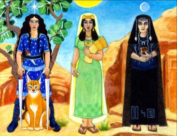 Matriarcat & Religions : des vestiges secrets au syncrétisme Uzza-allat-menat