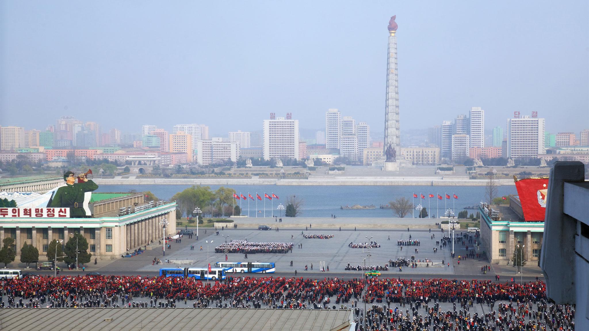 Qu'en est-il vraiment de la Corée du nord ?  Coree_du_Nord_Carrousel_2
