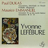 Maurice Emmanuel (1862-1938) Lefeburei