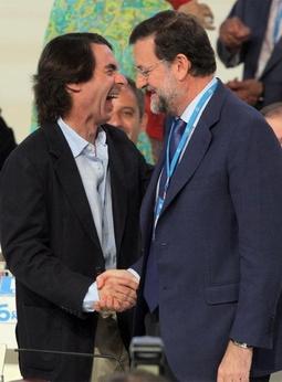 CIMAS DE LA COMEDIA Aznar-y-rajoy