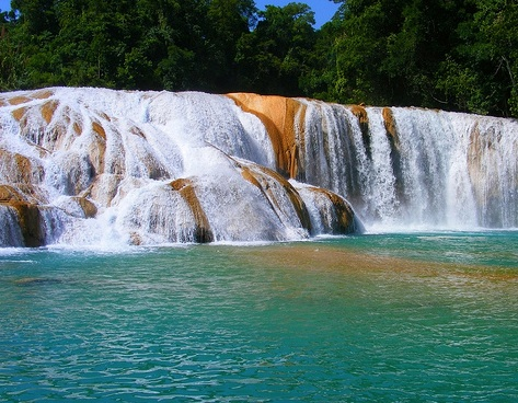 Turquoise waterfalls dry up after Mexico quakes Agua-Azul-1