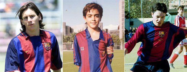 Barca Players years ago! Ballon-dor-barcelona-kids