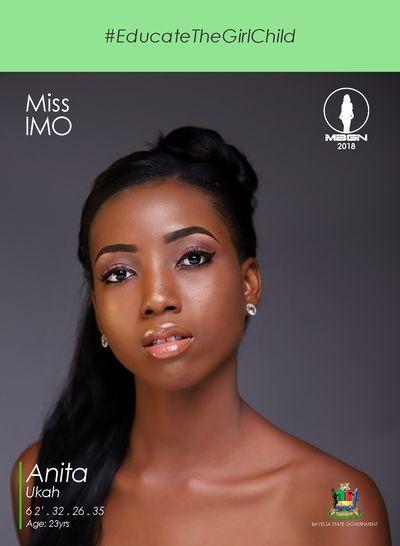 Anita Ukah (NIGERIA 2018) Contestant-17