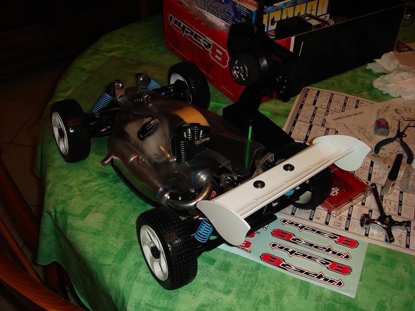 Mon HYPER 8 Pro, moteur 4.6 cm3 Image10