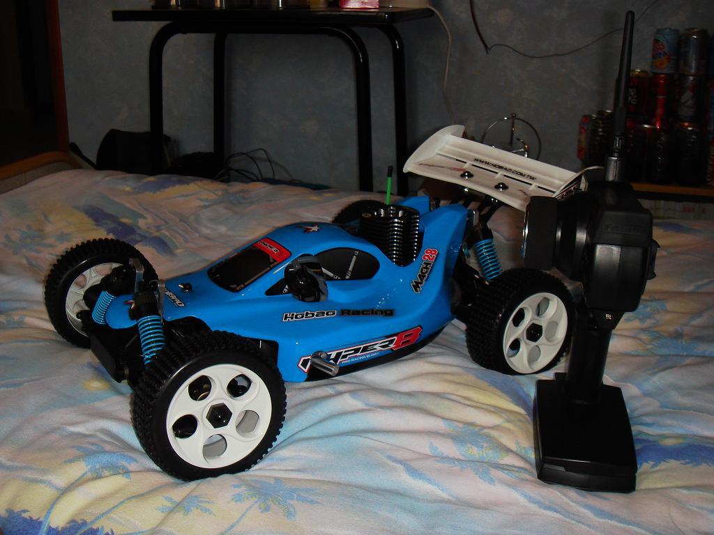 Mon HYPER 8 Pro, moteur 4.6 cm3 Image15