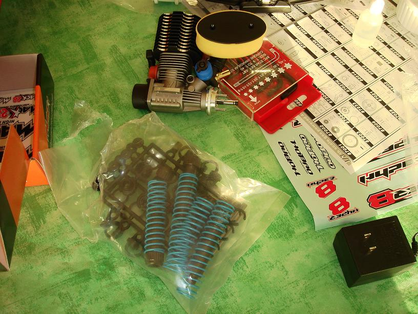 Mon HYPER 8 Pro, moteur 4.6 cm3 Image7