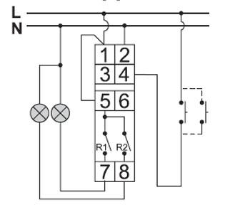Импульсное (бистабильное) реле управления освещением РИО-2 Bis-414-2