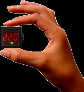 Cамый маленький щитовой цифровой вольтметр ВР-М01-29 Vr-m01-29cd-1