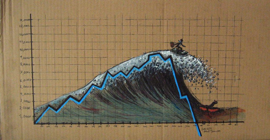 L'épée de Damoclès qui pèse sur les marchés mondiaux The_wave_by_typaer