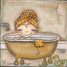 En el baño 607fa945786f8c7c461601636354bf27