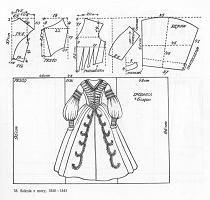 [XIX Crinolines] corsage robe et robe 0418a609112fe9909e27acf532046660