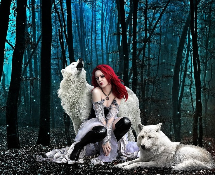 woman and wolf 1caf5a2f9ba73164a5e5af48fa53c2f2