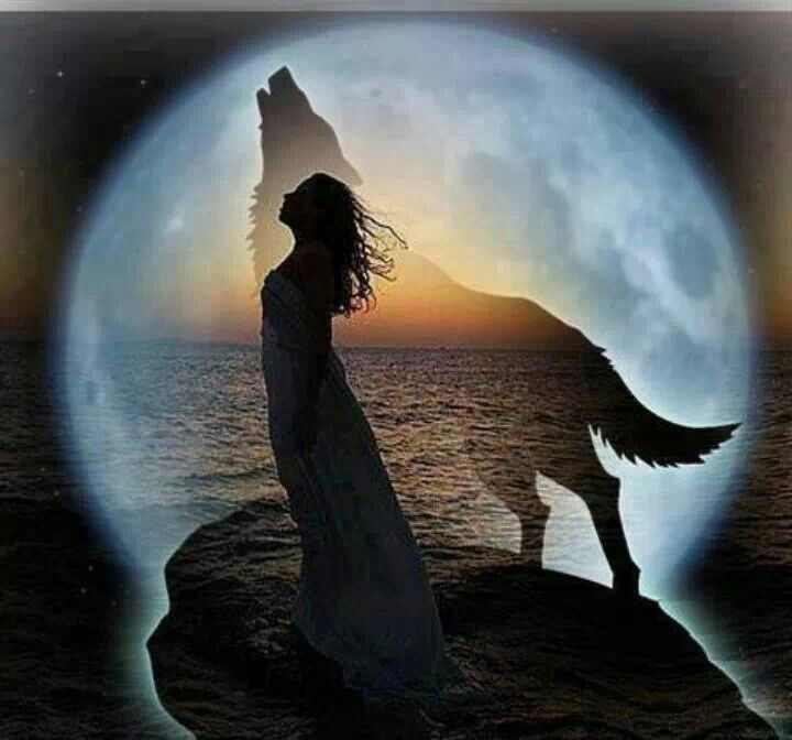 woman and wolf 1f0f8e1bfe447f133b458ee89a11b30c