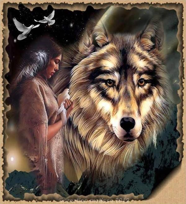 woman and wolf - Page 2 29981441ae91fe388f4e1481eb144a4a