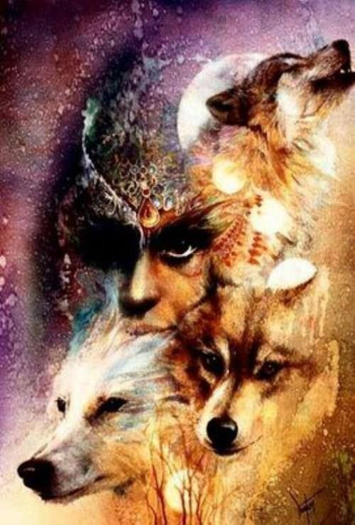 woman and wolf - Page 2 5659dc1c4481415fbfceedf966818291