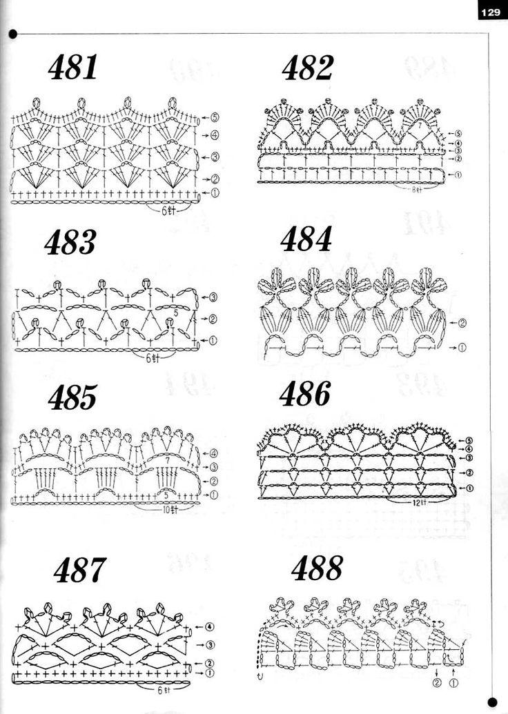 262 Puntos a Crochet Adc1e6dd7fae70c5d3818e95fb716124