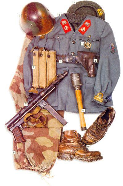 Los uniformes de la Segunda Guerra Mundial Bec7c87902a1ecb5bb12e03dd71ff56b