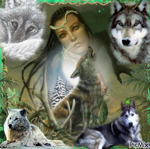 woman and wolf - Page 2 D24347d9238e99d70f13d9ac7f9dcb83