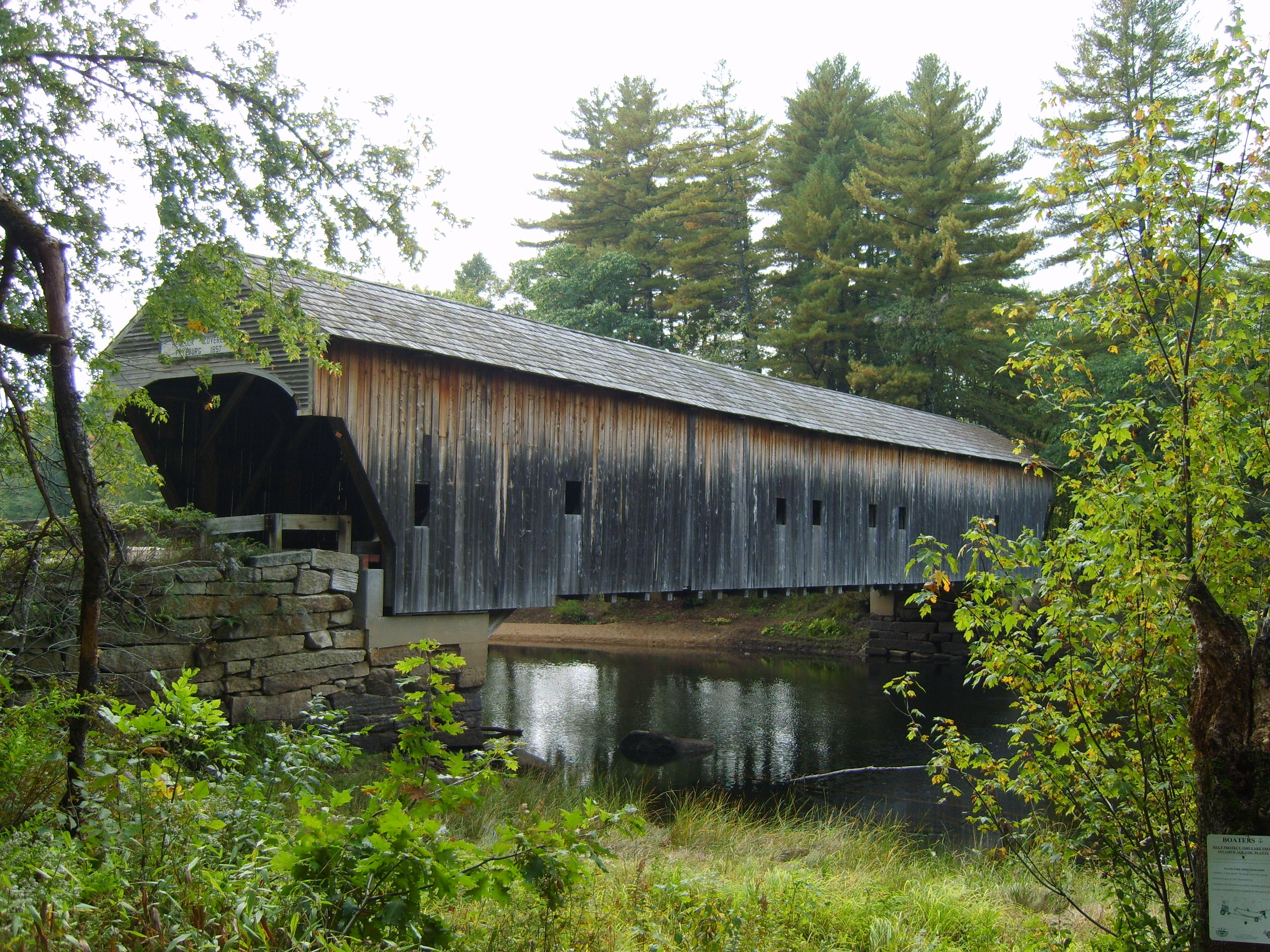 Covered Wooden Bridges B4bffee0177f1bc6e218eed5cb3bfb34