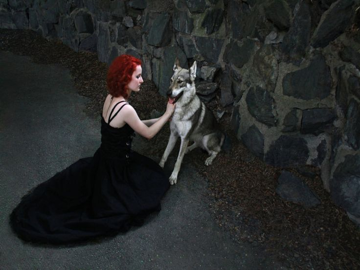 woman and wolf 047ff13296dc32ee11975bf99c71c356