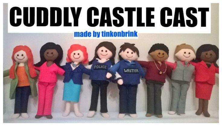 CASTLE CREATIVE - HOW TO MAKE THE CUDDLY CASTLE CAST 066218f2f9a581f71d392c224de5db49