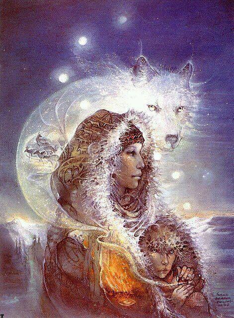 woman and wolf - Page 2 0751e28b805b74f9304fd0a3e3d228aa