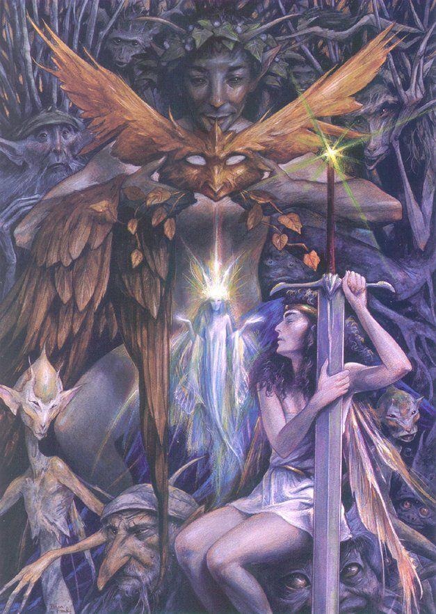 Fantasy art  - Page 16 107062dca1b567a514b0b414f4bc1aca