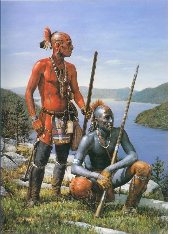 indiens entre mississippi & st laurent de 1754 à 1760 1ae927f7511cd73d39b9e4c010ffd100
