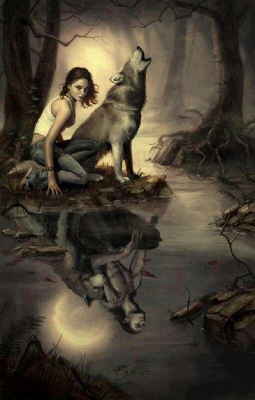 woman and wolf 1dcde1e3dcb200e6f928961179f81b58