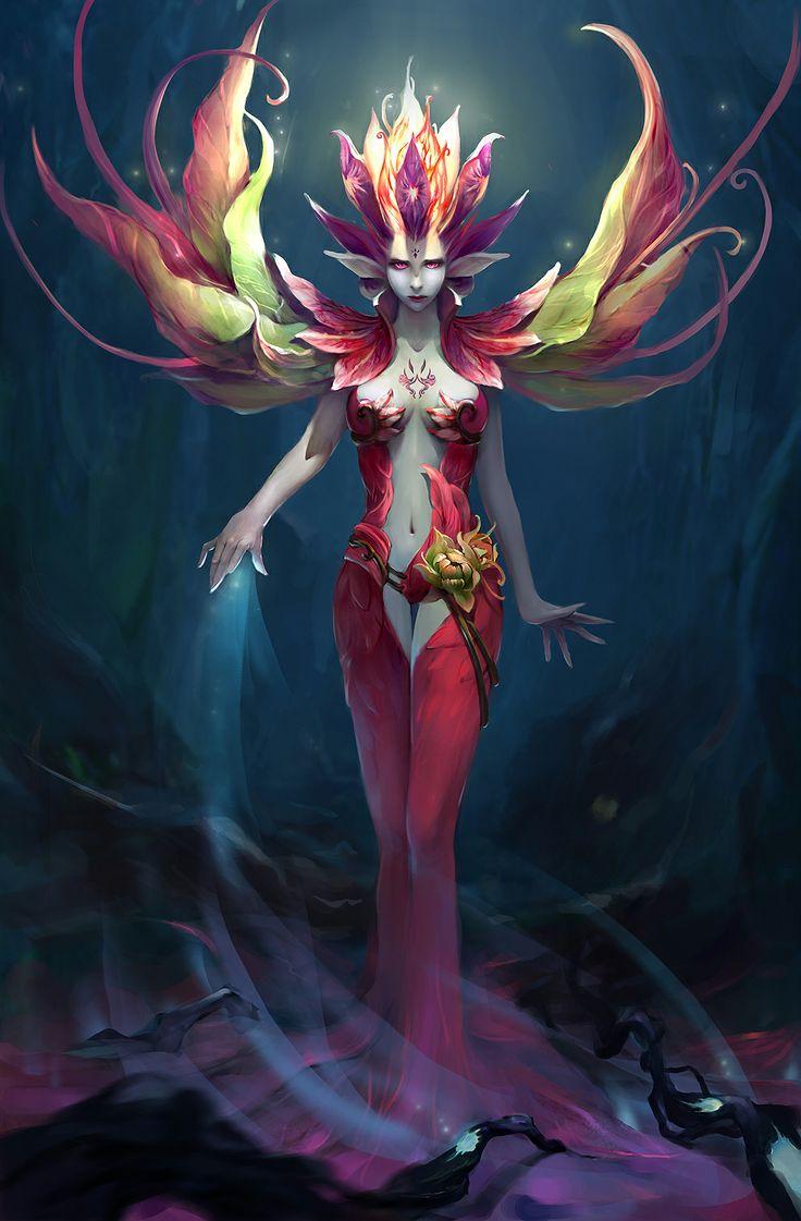 Fantasy art  - Page 7 3f4f82716f91adb2ccf39714c4c26338