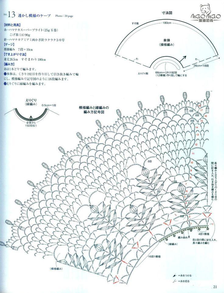Chales A Crochet ..... sin nombre ....solo grafico encontrado en internet 4c16260be4d361e451c5fc0056d102ba