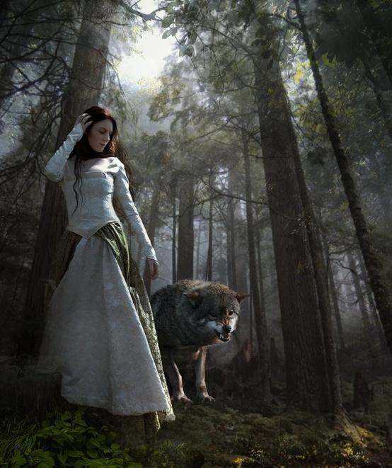 woman and wolf 70de354d70e01c94fed2aa8c1c0e928b