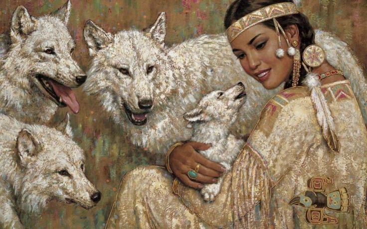 woman and wolf 71603873c8d5462ddbe04ce45b2756a6