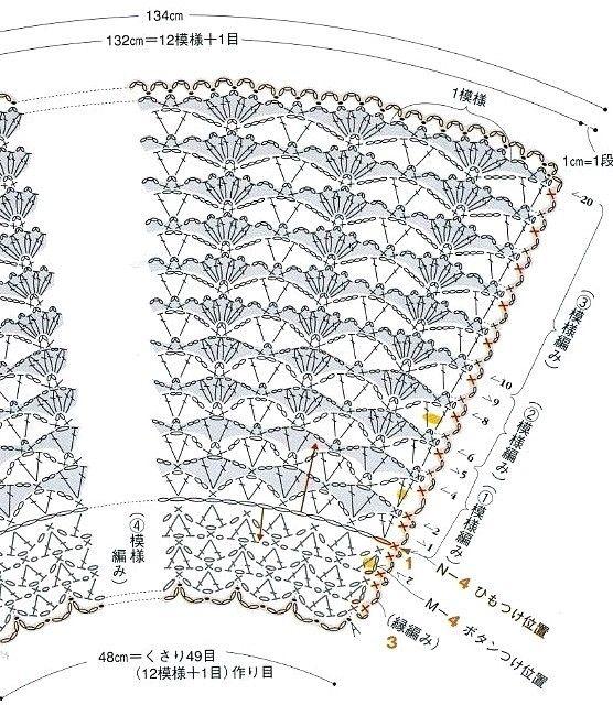 Chales A Crochet ..... sin nombre ....solo grafico encontrado en internet 807dd4c357833d43d5e7e6c8436285e6