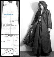 [fantastique] Faire un manteau à capuche, plusieurs modèles 8346ce5e27803bdb08323299937d88cc