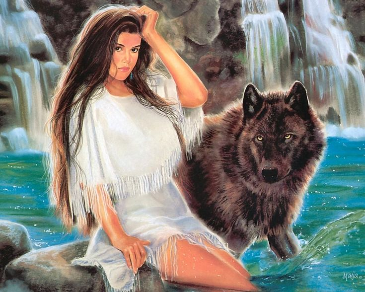 woman and wolf - Page 2 D00ce06689f6cd307662b54a7079c122