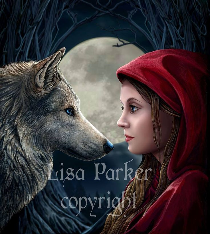 woman and wolf D7eaf05c097c92fed89cd1a57392fe16