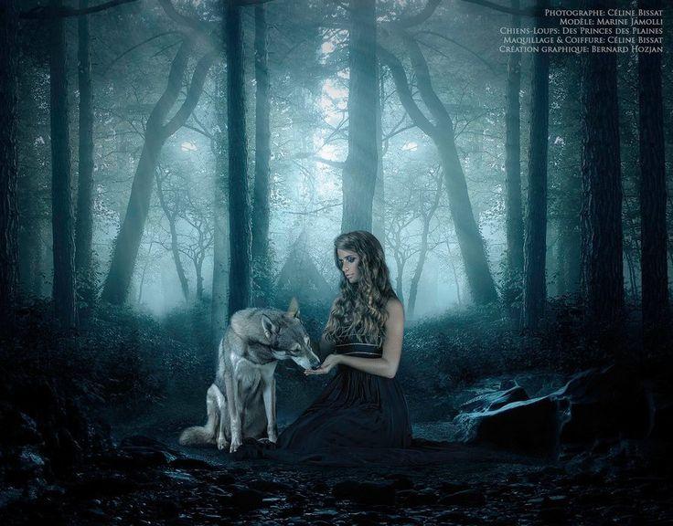 woman and wolf E773f6062b2c6366ac3acb51fdc54a5e