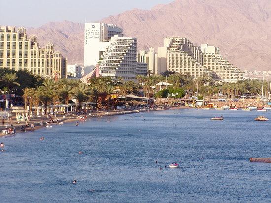 EILAT Eilat-the-hotels-area