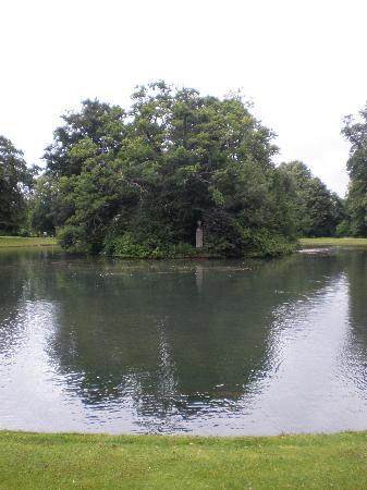 GEORGINA SPENCER Island-within-lake-where