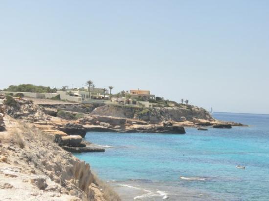 Fotos das nossas férias Ibiza-cala-de-comte
