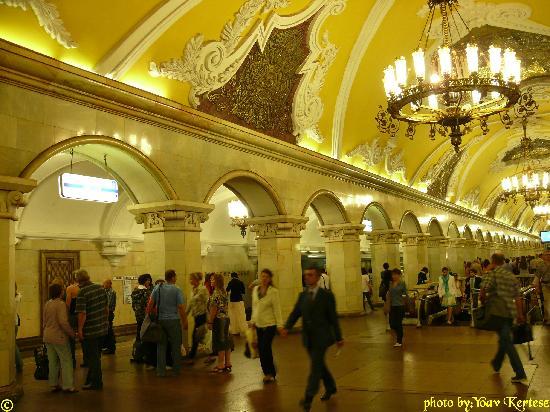 La belleza de las estaciones del Metro de Moscú Moscow-metro